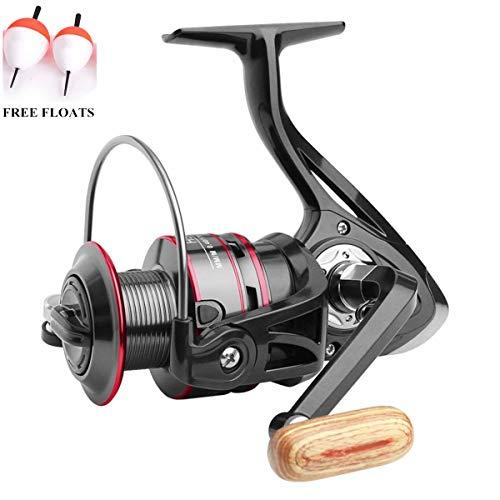 ecoolbuy Boot Rock Spinning Fishing Reel 12BB 5,2: 1Metall Karpfen Angeln Rad Spinning Reel 1000200030004000500060007000Series, 12BB-5000 (Offshore Reel Spinning)