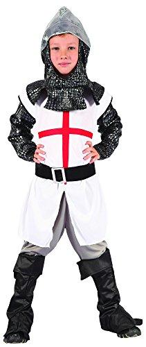 Ritter Kostüm für Jungen 122/134 (7-9 (7 Kostüm Ritter)