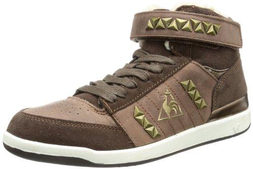 Le coq Sportif Diamond Elance Mid 01041142.JFU, Sneaker donna marrone (Marron - Braun (Seal brown))