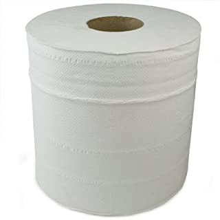 Centre Feed Rolls White - Pack of 6 Paper Towel, Hand Towel