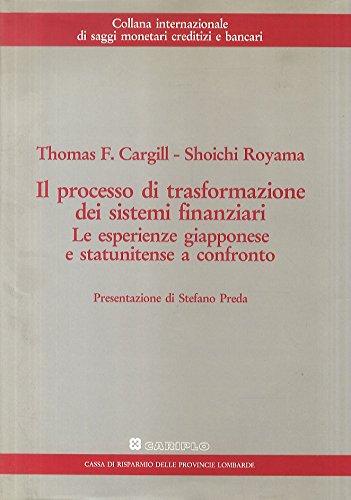 cargill-tf-royama-s-il-processo-di-formazione-dei-sistemi-finanziari