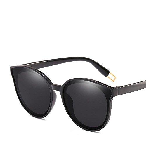Aoligei Männliche und weibliche allgemeine Sonnenbrille blau Meer Legende von den gleichen Stil Brille net rote Sonnenbrille
