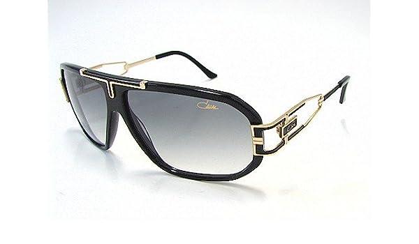 59a34f303a5 CAZAL 881 Gold   Black 1 Sunglasses  Amazon.co.uk  Clothing