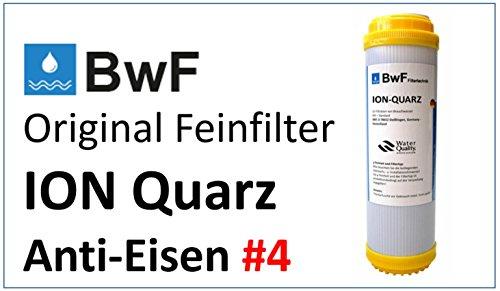 BWF Original ION-QUARZ Typ: 4 (FEIN!) Anti Eisen (Braunfärbung) Patrone Filterkartusche Wasserfilter, Filter, Wasser, Fische NEU!