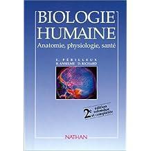 Relié - Biologie humaine - anatomie - physiologie, santé