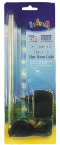 Fish R Fun Submersible Aquarium Blue Moon Light for sale  Delivered anywhere in UK