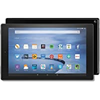 Fire HD 10 Tablet, 10.1'' HD Display, Wi-Fi, 16 GB (Black) - Includes Special Offers