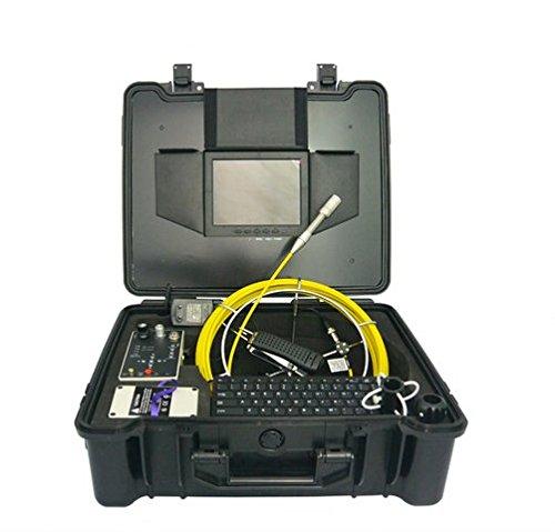 GOWE Industrial endoscopio cámara de inspección de cañerías con pantalla a color de 7y Sensor de cable de 30m tamaño: 1/4'; horizontal Resolución: 420TVL,; Sistema de señal: PAL