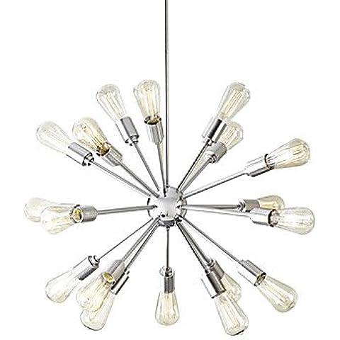 Creative ZSQ 18-Light nichel spazzolato lampadario , 220-240V #1716