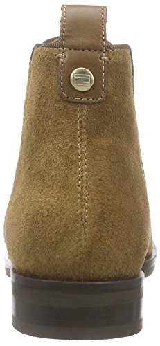 Tommy Hilfiger B1285erry 6b, Bottes Chelsea courtes, doublure froide femme Marron - Braun (COFFEE LIQUOR 211)