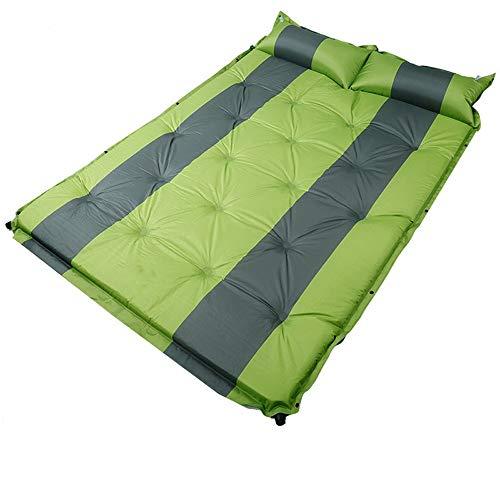 Weastion Auto-Bett Auto-Matratze Outdoor-Schlafmatte Auto-Shock-Matratze SUV-Koffer Dedicated Reisebett Rückseite des Autos Schlafsack doppelt grün 3cm
