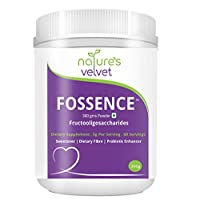 Nature's Velvet FOS Fructooligosaccharides, Sugar Substitute and Probiotic Enhancer Powder -300g