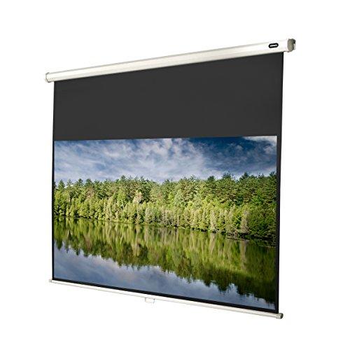Celexon Rolloleinwand Economy | Format 16:9 | Nutzfläche 240 x 135 cm | Beamerleinwand geeignet für jeglichen Projektortyp | Auch als Full-HD und 3D Leinwand einsetzbar | einfache Installation & gute Planlage |