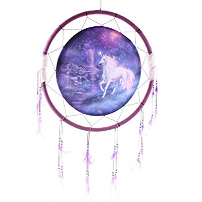 Fantasy Dreamcatcher Print Unicorn Brook Large. A perfect gift for that Birthday Gift, Christmas Present or Fathers day gifts etc...