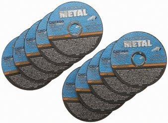 4-1/2Trennscheiben für Metall, für Schneiden alle eisenhaltigen Metallen und Edelstahl von Warrior -