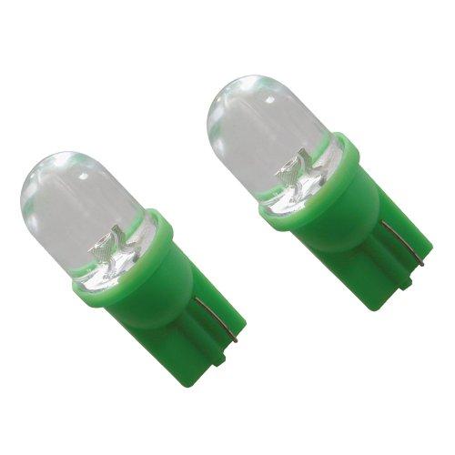 Carpoint 0740018 Ampoule de Rechange T10 Vert 5W 2P