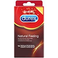 Durex Natural Feeling Kondome, natürliches Haut an Gefühl, latexfrei, 16 Stück preisvergleich bei billige-tabletten.eu