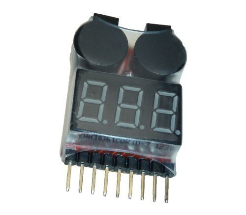 Adapter Universe Buzzer 1S - 8S Lipo Alarm Warner Schutz Checker Voltage Buzzer Pieper 1S 2S 3S.