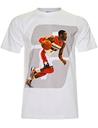 PALLAS Men's John Wall Washington Wizards Basketball Sport T-Shirt