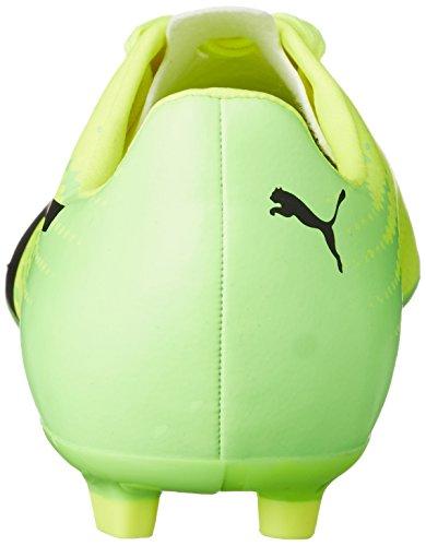 Puma Unisex-Kinder Evospeed 17.4 Ag Jr Fußballschuhe Gelb (safety yellow-puma black-green gecko 01)