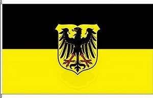 Königsbanner Hissflagge Lübben (Spreewald) - 100 x 150cm - Flagge und Fahne