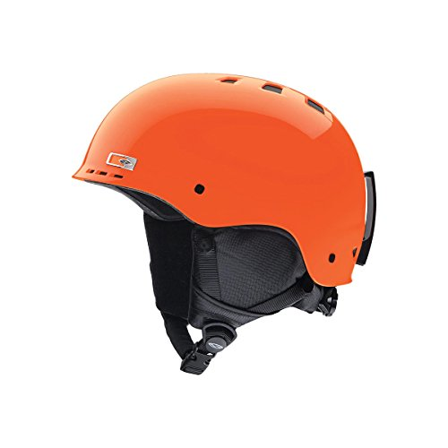 SMITH OPTICS Kinder Ski- und Snowboardhelm Holt Junior, Neon Orange, E006194BG4853 -