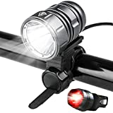 Best Bicycle Lights 1200 Lumens Rechargeables - LED Bike Lights, Powerful 1200 Lumen - 4400mah Review