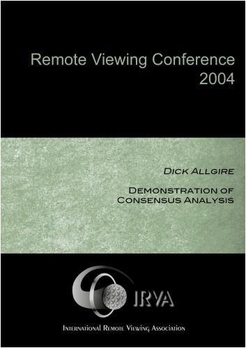 Preisvergleich Produktbild Dick Allgire - Demonstration of Consensus Analysis (IRVA 2004)