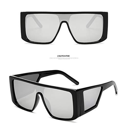 YOGER Sonnenbrillen Übergroße Schild-Sonnenbrille Für Frauen Large Frame Ladies Shades Schwarz Rosa Sonnenbrille Weiblich