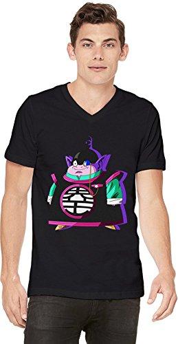 King Kai T-shirt col V pour hommes Small