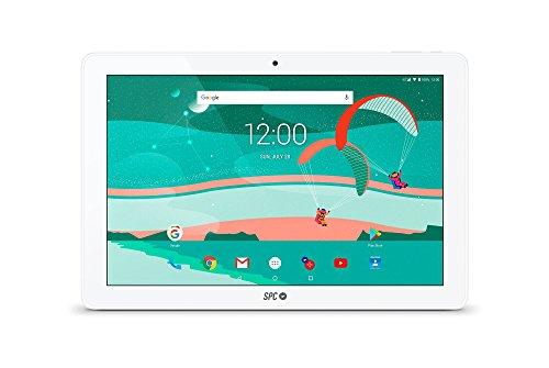 \'SPC Gravity 4G–Tablet 10.1(WiFi, Dual Core Mali400MP2, 16GB interner Speicher, Android) weiß