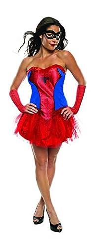 Marvel Spider Girl (Tutu) - Adult Licensed Costume Lady: S (UK: 8-10) (Spider Woman Kostüm Uk)