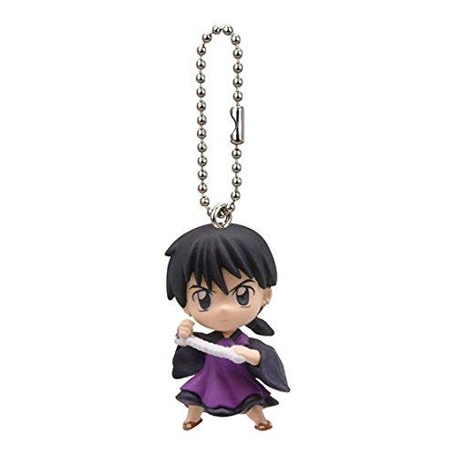 Inuyasha Pvc Figure Swing Keychain~Miroku