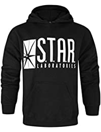 The Flash TV Series STAR Laboratories Hombres Capucha