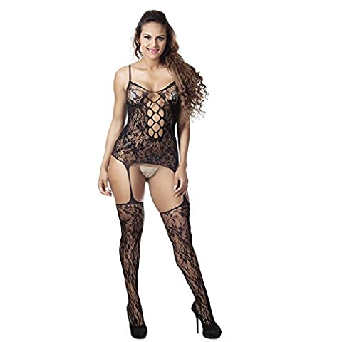 Oyedens Femme Sexy Nylon Seduction Sexy Erotique Unique Nightwear Robe