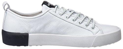 Blackstone Herren Pm66 Sneaker Weiß (White)