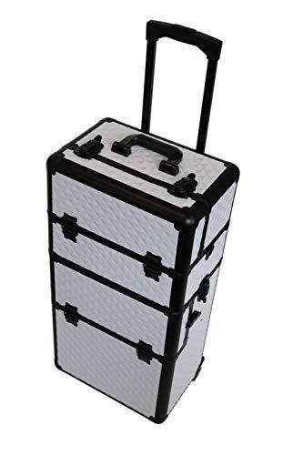 Generic Ravel Trolleyy Cosmetics NAI à Ongles en Aluminium de Coiffure Vanity Maquillage de Voyage Beauté Cosmétique en Aluminium Meuble