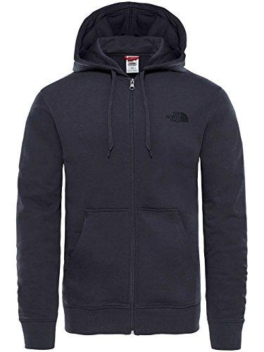 The North Face OPEN ga FZHD, Sweatshirt mit Kapuze Herren M Light Asphalt Grey North Face Jacke Herren Mit Kapuze