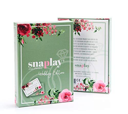 Snaplay I 65 Fotoaufgaben für die Hochzeit I Hochzeits-Spiel I Hochzeitsgeschenk I Geschenkidee für das Hochzeitspaar