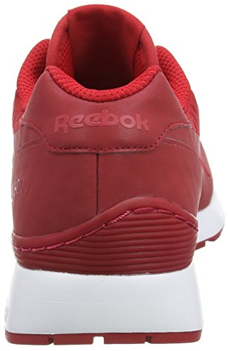Reebok Gl 6000 Hidden Messaging Tech Pack, Baskets Basses Homme AQ9818_41 EU_Excellent Red/White/Black
