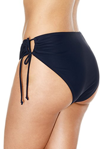 Attraco Damen Badehose Boardshort Damen Bade Hotpants Damen Badeshorts Frauen Bikini Badehose Navy
