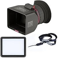 "Neewer® mirino Perfetto PIEGHEVOLE 3x LCD de 3""ingrandimento por Canon Nikon Sony Pentax Panasonic Cámara réflex digital e altre Fotocamere/Come Canon 7d, 5d Mark II, 1d Mark IV, T2i/550d, T1i/450d, 60d, G9, G10, S90, Nikon D700D300S D300D90D7000D3100D3000Panasonic DMC-GF12LX35Pentax K-7"
