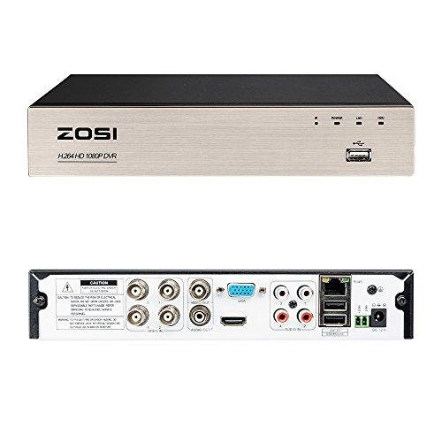 ZOSI CCTV 4CH HD 1080P DVR Digit...