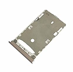 Norby Sim Card Slot Sim Tray Holder Replacement Part for Xiaomi Mi Max (Gold)