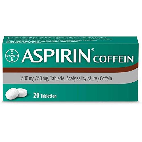 Aspirin Coffein Tabletten, 20 St. Tabletten
