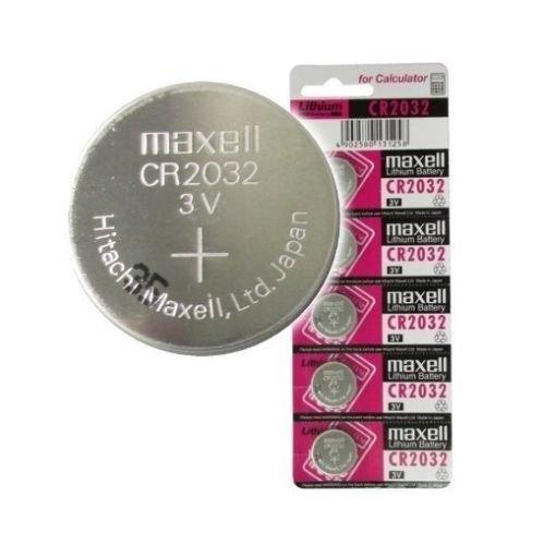 10 pilas de botón de litio de 3 V Maxell originales Cr2032. Tamaño: 20mm de diámetro x 3,2mm de espesor. El paquete incluye: 10pilas de alta calidad y larga fecha de caducidad.