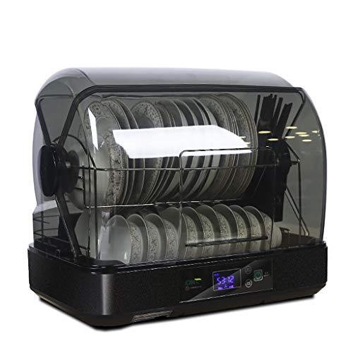 Armoire de désinfection Armoire de nettoyage Baguettes 45L haute capacité Vaisselle Vaisselle Siphon de séchage Outil de désinfection