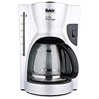 Fakir 41000327 Cafe Prestige Kahve Makinesi, 900 Watts, 1.5 Litre, Plastik, Gümüş