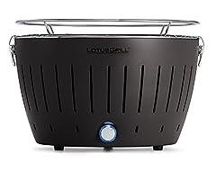 Idea Regalo - LotusGrill G-AN-34 - Barbecue a carbone senza fumo, Colore Nero