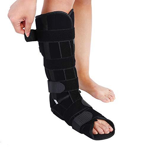 Yotown Knöchel Fuß Orthese, Für Plantarfasziitis und Achillessehnenentzündung, Adult Leg Fixation Protector Medizinische Knöchel Unterstützung Verstellbare Beinstütze Strap Knöchel (S/M / L)(L) -